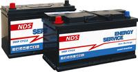 Nano-Tech Solarbatterie 100Ah 353 x 175 x 190mm, Säurebatterie 12V