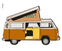 Holz-Einbaurahmen VW T2 (bis 7/90) und Universal