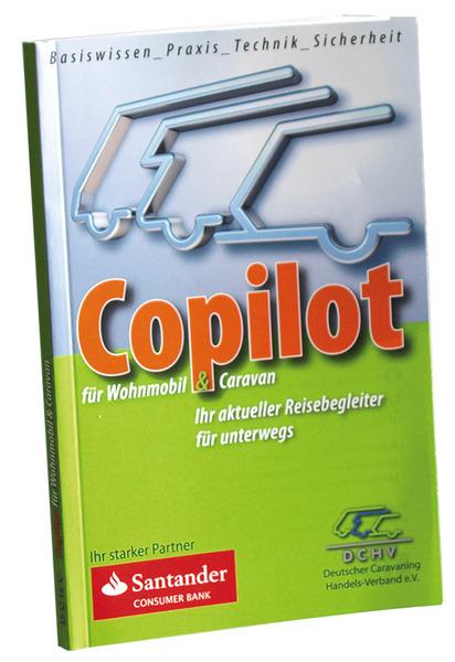 Buch Copilot für Caravan und Wohnmobil vom DCHV