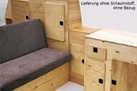 VW T3 Möbelpaket Bausatz Jolly ohne Schaumstoff und Bezüge