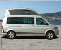 T5 Bett, VW T6, für Hochdach Ergoline LR