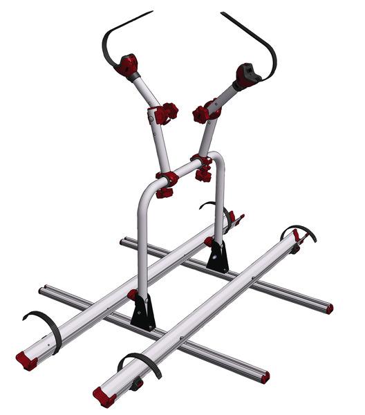 Fahrradträger für Reimo Variotech Sitzschienen