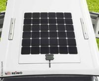 Solarpanel 130W montiert auf Aufstelldach