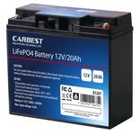 20 Ah Carbest Lithium-Eisen-Phosphat Batterie (LiFePo4)