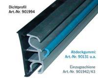 Fenstereinzugsschiene Aluminium silber, 3m