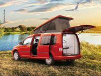SD VW Caddy Einbaurahmen
