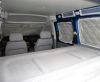 Isoflex Thermomatte VW Caddy Maxi alle Modelle ab Bj.2004 (8-teilig)