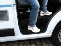 Fußabtreter für Einstiegstufe Ducato ab6/06