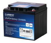 60 Ah Carbest Lithium-Eisen-Phosphat Batterie (LiFePo4)