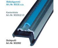 Gummi-Dichtprofil für Aluleisten 20x11mm