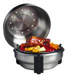 SAfire Grill und Barbecue Roaster zum Grillen, Braten und Räuchern