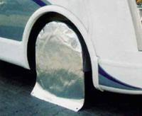 Reifenschutzhülle für Reisemobile