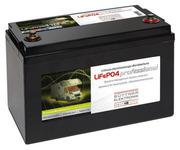 Bordbatterie mit Lithium Technologie 12V 110Ah