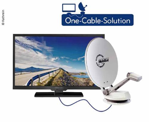 e7dfb9da9fec58 Caravan TV System CTS 750-24 GPS parabolic antenna incl. alphatronics 24