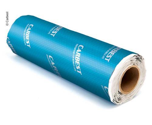 Schalldämm Isolation Alubutyl, selbstklebend, 2mm stark, 100x50cm