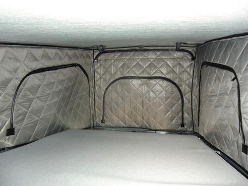 Thermomatten für Reimo-Klappdach VW T5/6 kurzer Radstand Superflach