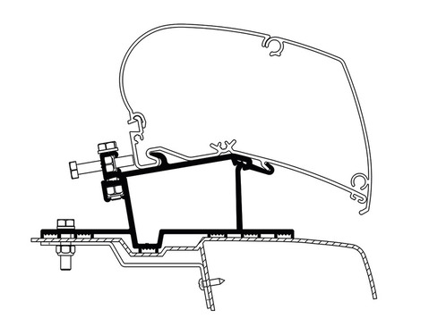 Adapter Omnistor 6002 6900 For Renaultopel