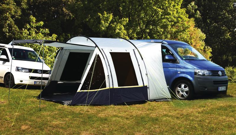 VW Bus Vorzelt Tour Easy 3 mit einhängbarem Boden