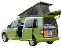 VW Caddy kurz