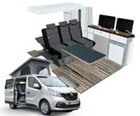Renault Trafic/Opel Vivaro/Nissan NV300/Fiat Talento  Ausbau