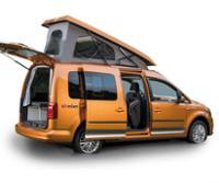 VW Caddy lang
