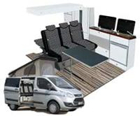 Ford Transit Ausbau, Ford Transit Camper