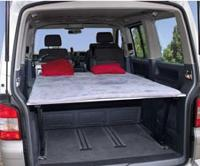 Bett für VW T6 Multivan
